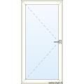 Deur naar Binnen Openend - Glas