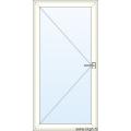 Deur naar Buiten Openend - Glas