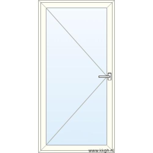 Deur naar Buiten Openend Glas